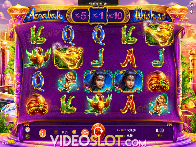 Spiele Azrabah Wishes - Video Slots Online