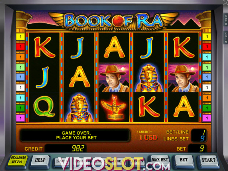 book of ra video games