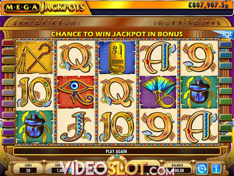 Cleopatra MegaJackpots Slot - Play Online & Win Real Money