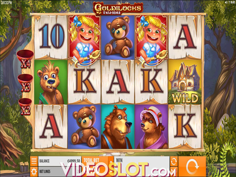 Goldilocks and the Wild Bears Slot - Play Penny Slots Online