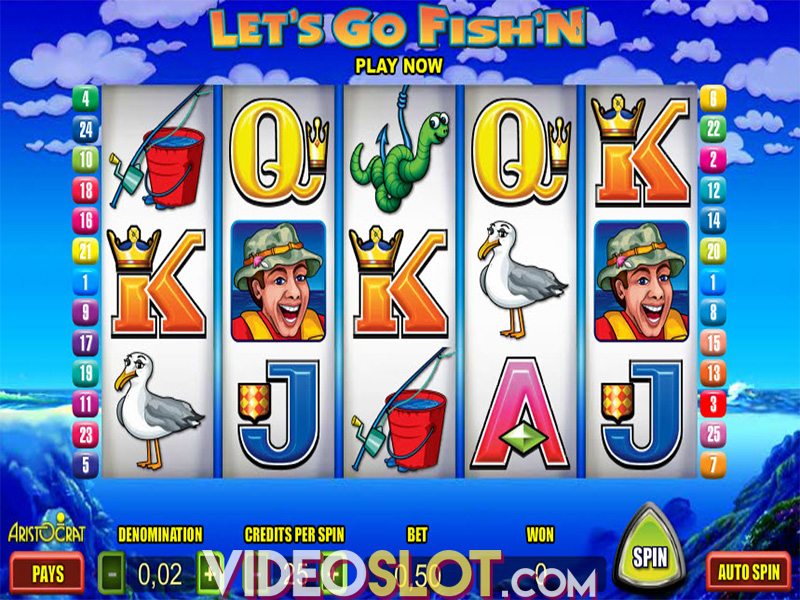 Let 39 s go fishing online video slot review for Lets go fishing game