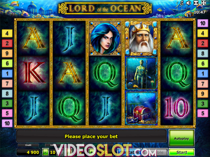 online casino signup bonus lord of the ocean