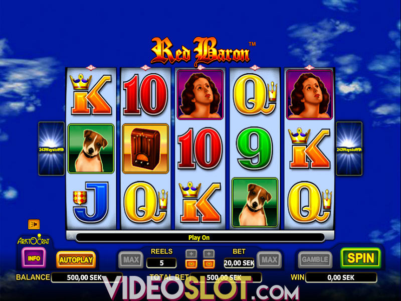Spiele Red Baron - Video Slots Online