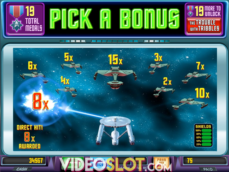 Star Trek Red Alert slot - Episode 1 från WMS Gaming