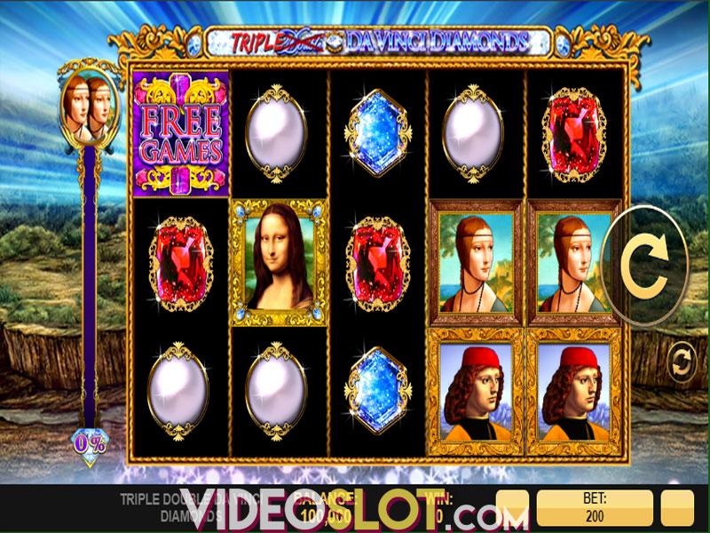 Spiele Triple Double DaVinci Diamonds - Video Slots Online