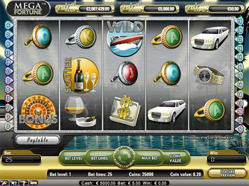 Mega Fortune is arguably one of the best progressive slots. Read review.