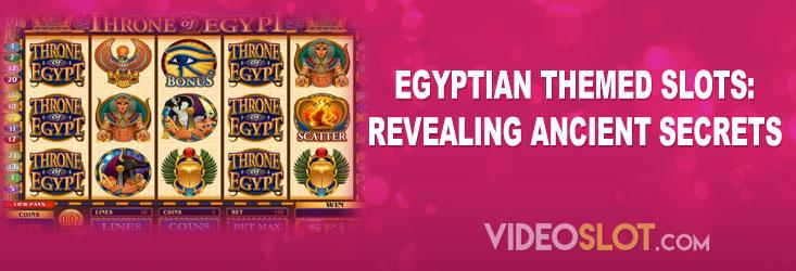 Best Egyptian Themed Slots