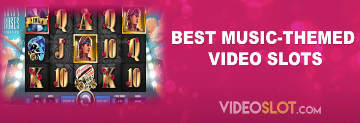 Best music themed video slots
