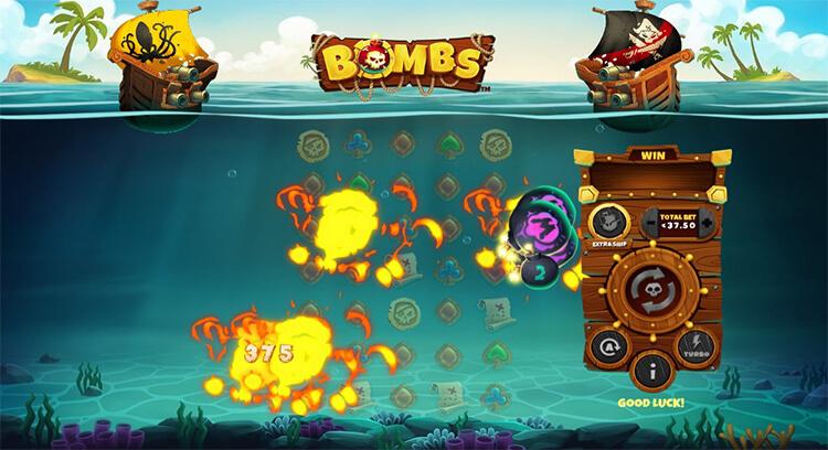 Bombs Slot Bonus Game