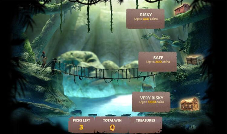 Jackpot Raider Slot Bonus Game