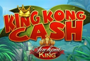 King Kong Cash now offering a progressive jackpot prize to Blueprint Gaming players.