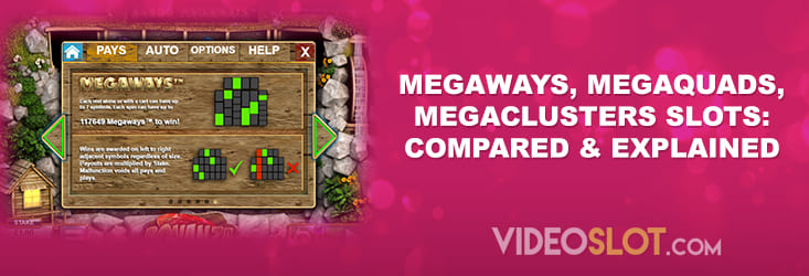Popular slot mechanics compared