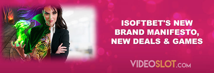 iSoftBet's New Games and Brand Manifesto April 2021